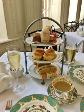 Afternoon tea for two at the Orangery in Kensington Gardens