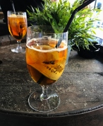 The fruity concoction known as Pimm's Cup