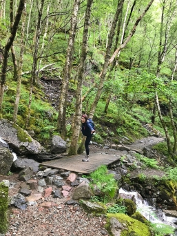 Hike to Steall Falls, Scotland's second highest waterfall