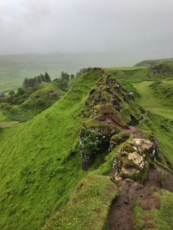 The Fairy Glen on Isle of Skye