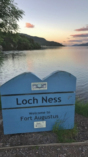 Loch Ness as seen from Fort Augustus