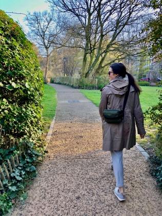 Walking in Tenbosch Park