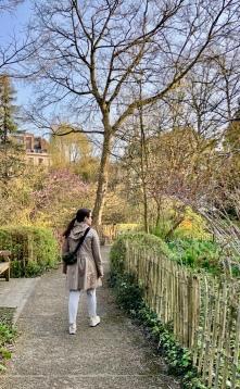 Walking in Parc Tenbosch