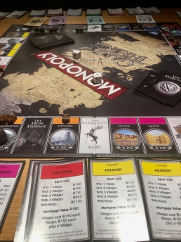 Saturday night social distancing with Game of Thrones Monopoly