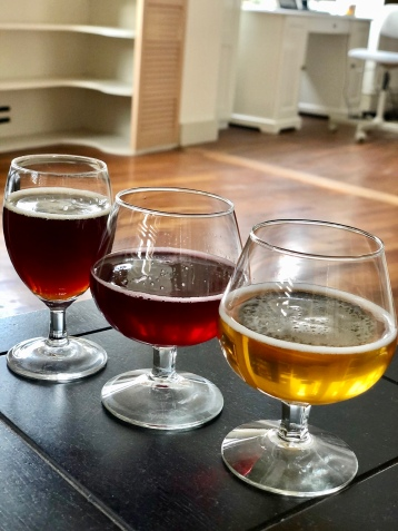I created a beer taste testing for Dan where I challenged him to identify the type. He did pretty well!