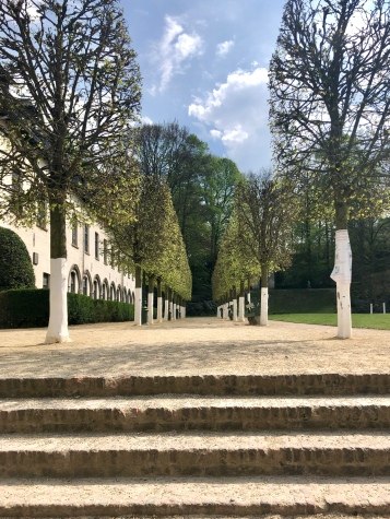 Walk views in the Abbaye de la Cambre