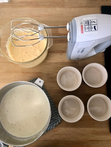 Very easy prep for crème brûlée