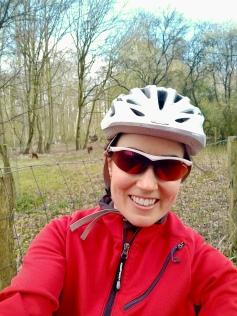 Obligatory selfie while wearing bike helmet