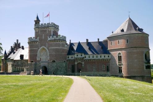 Gaasbeek Castle in Lennick