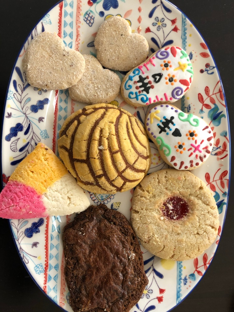 An assortment of baked goods from Lopez Bakery and Restaurant