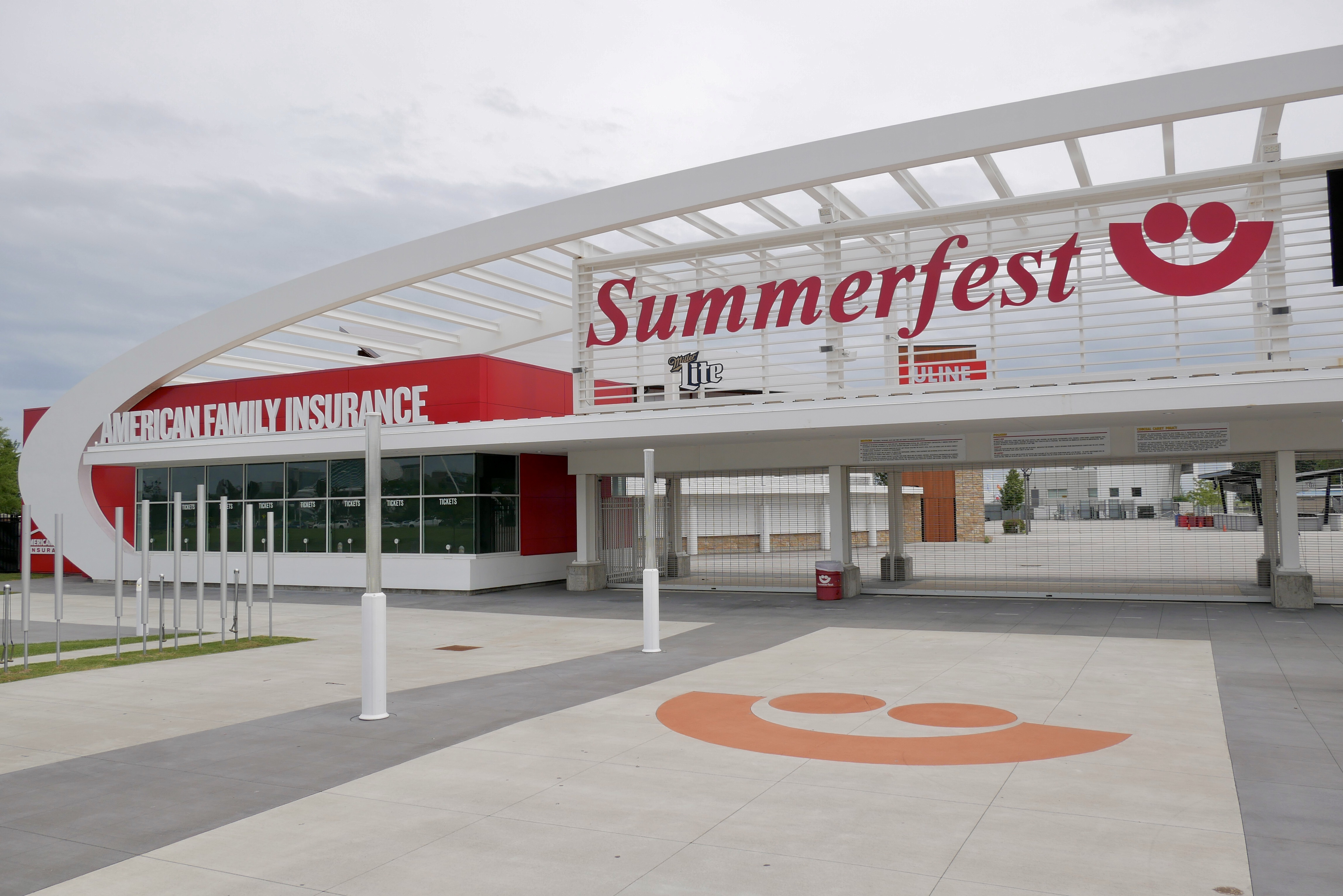 Summerfest music festival grounds
