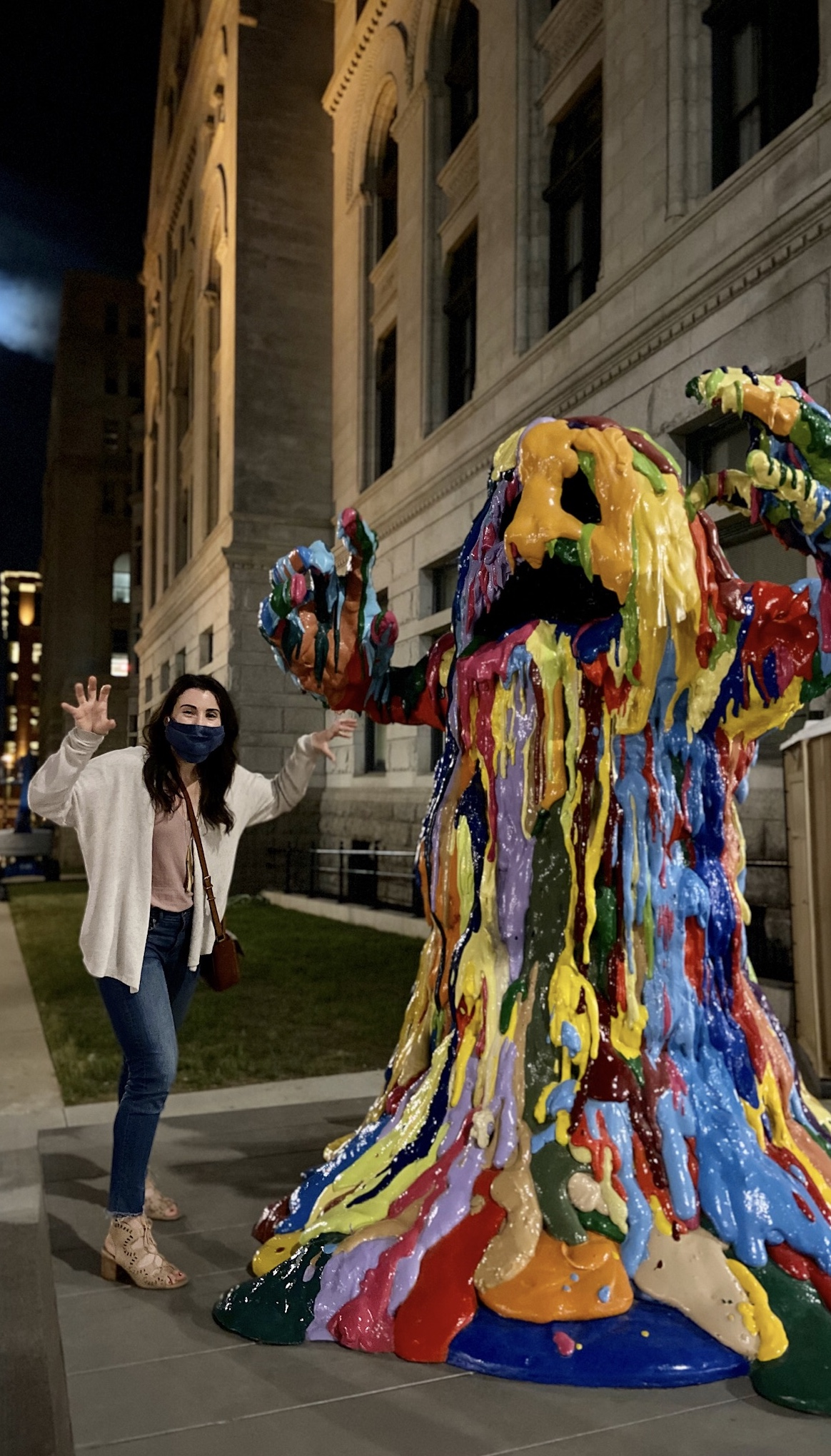 The Monster of the Sculpture Milwaukee